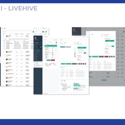UX/UI LiveHive